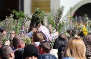 Вербна неділя: Графік богослужінь в головних храмах Мукачева та Ужгорода