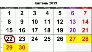 22 квітня в історії України та світу