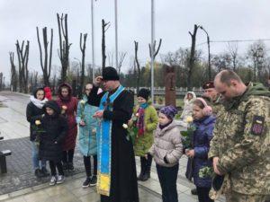 Закарпатці вшанували загиблих військових на Сході України