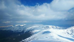 У Карпатах сніг та мороз