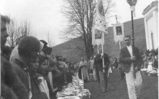 Як освячували паски на Закарпатті у 30-тих роках (ексклюзивні фото)