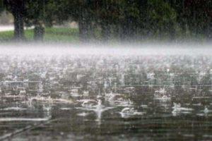 Закарпатцям знову прогнозують  сильні дощі, грози, град, а також підвищення рівнів води