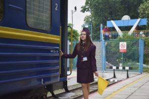 В Ужгороді запрацювала дитяча залізниця