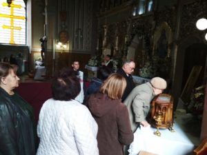 В Ужгород привезли мощі святого Шарбеля з Лівану