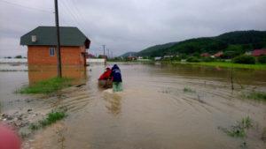 Зі сторони Румунії на Закарпаття насувається негода
