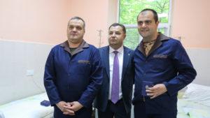 Полторак на Закарпатті відвідав поранених бійців