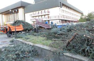 В Ужгороді збирають підписи, щоб заборонити забудову площі біля драмтеатру