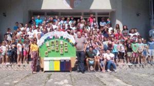 Європейський досвід сортування відходів впроваджують на Закарпатті для учасників дитячого табору (Фото)