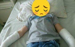 Шестирічний хлопчик ледь не загинув через кандидатів у депутати ВР