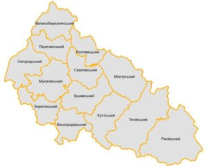 Ужгородський, Мукачівський, Хустський, Тячівський або Рахівський? На Закарпатті залишаться тільки чотири райони