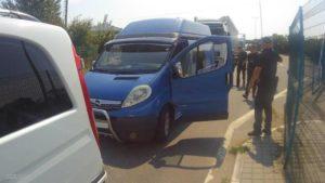 П'яний українець проривався мікроавтобусом з Угорщини на Закарпаття