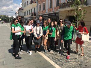В Ужгороді пройшла квест-екскурсія «Таємниці старовинного Ужгорода»