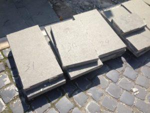 На Петефі встановлять плитку, на якій написано приблизно через скільки років ремонт закінчиться (фото)
