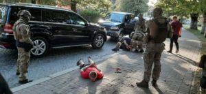 """""""Корд"""" затримав наркоторговця у Хусті (фото)"""