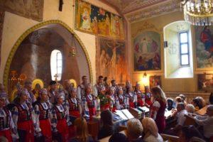 Свята Літургія, присвячена Дню міста, відбулася в Горянській ротонді