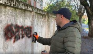 Челендж по замальовуванню реклами наркотиків започаткували в Ужгороді