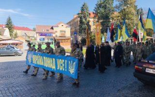 В Ужгороді вшановують пам'ять загиблих у російсько-українській війні (фото)