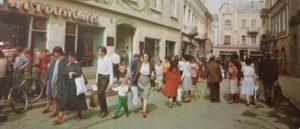 Стильний одяг, якісне взуття! Ужгородці 70-тих років (фото, відео)
