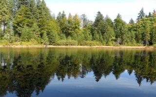 """На Закарпатті є """"Дике озеро"""", яке майже не бачить туристів (Фото)"""