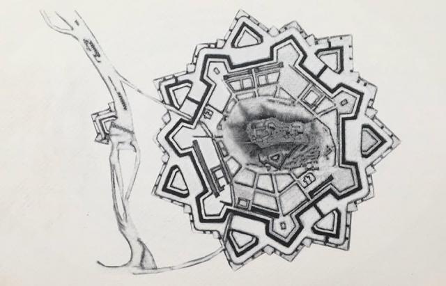 Унікальні гравюри Мукачівського замку