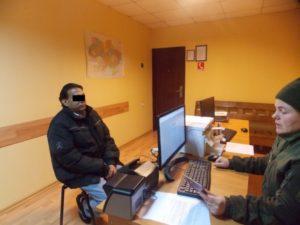 Іноземця з чужим документом затримали чопські прикордонники