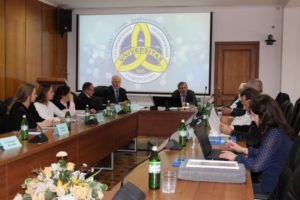 Відбулося перше в навчальному році засідання правління Міжнародної асоціації випускників УжНУ