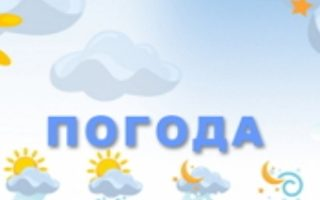 Прогноз погоди на Закарпатті!