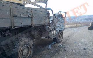 У зоні бойових дій на Донбасі бойовики обстріляли автомобіль, який перевозив воїнів 128-ї Закарпатської гірсько-штурмової бригади