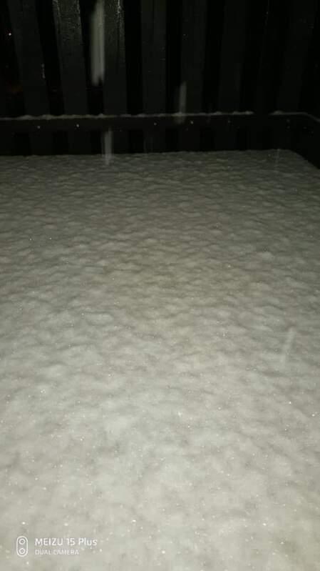 У Чехії випав сніг (фото)