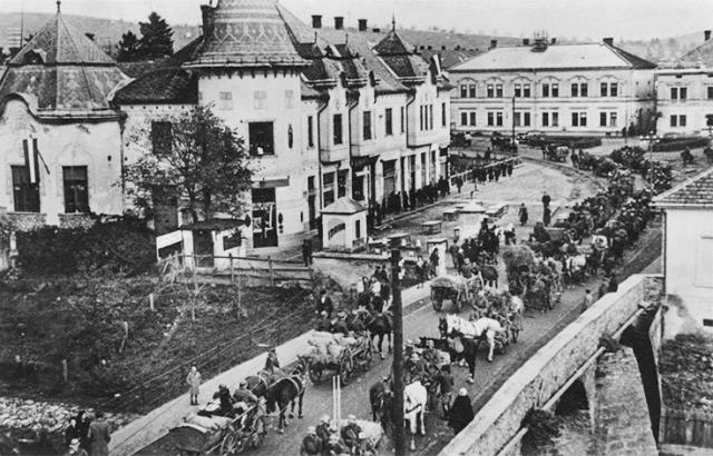 Як виглядало Берегово 100 років назад?