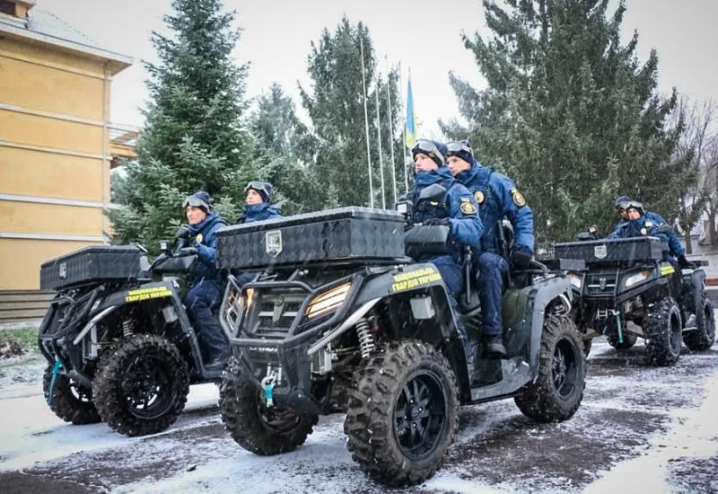 Фото нацгвардії, яка патрулюватиме Виноградівський район