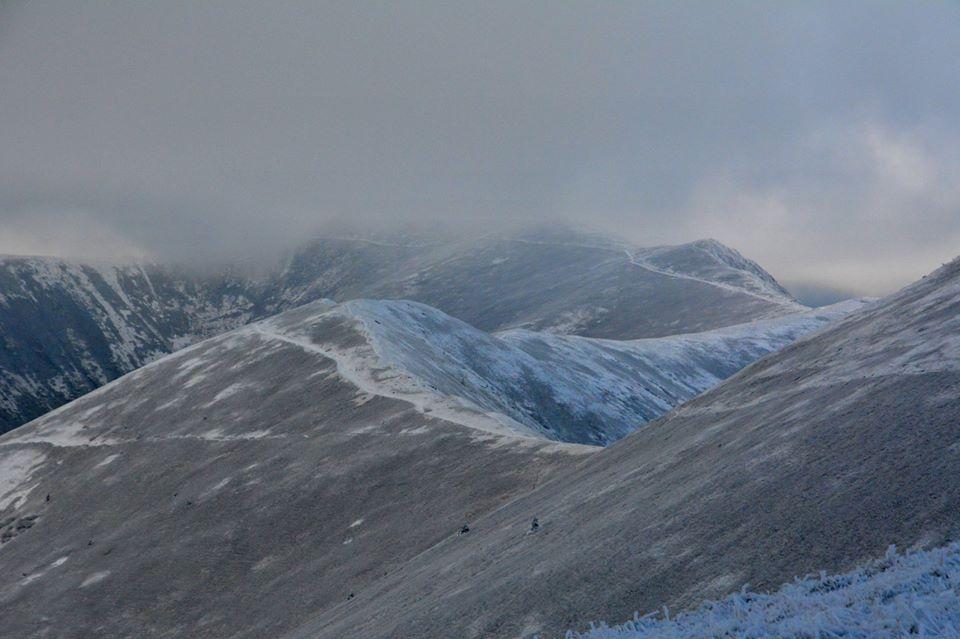 Фото зимової Полонини Боржави