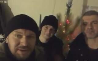 На передову до закарпатських бійців у новорічну ніч завітали зірки шоу бізу (фото, відео)