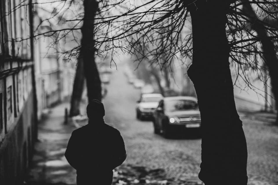 Чорно-білий, туманний, милий Ужгород (фото)