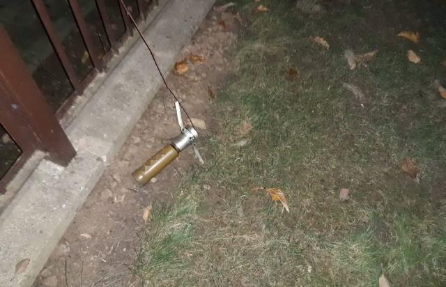 Мукачівця привітали з Новим Роком пострілом з гранатомета