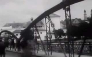 Унікальні кадри архівної кінохроніки центру Ужгорода