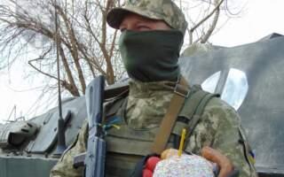 Як святкували Великдень бійці 128 окремого гірсько-штурмового батальйону (ФОТО)