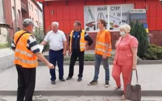 У Дубовому триває підготовка до ремонту центральної дороги