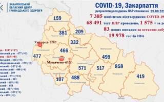 Скільки підтверджених випадків коронавірусної інфекції за минулу добу