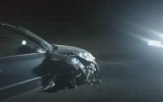 Автотроща на Іршавщині: зіткнулися два легкові автомобілі (відео)