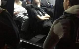 Відео затримання хасидів під Мукачевом