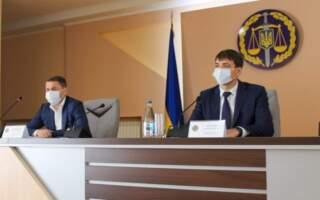 Дмитра Казака представили колективу Закарпатської прокуратури