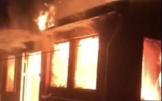 Відео: У пожежі на Закарпатті згорів чоловік