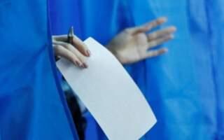 Явка в Ужгороді: Мінімум 10%, максимум – 48%