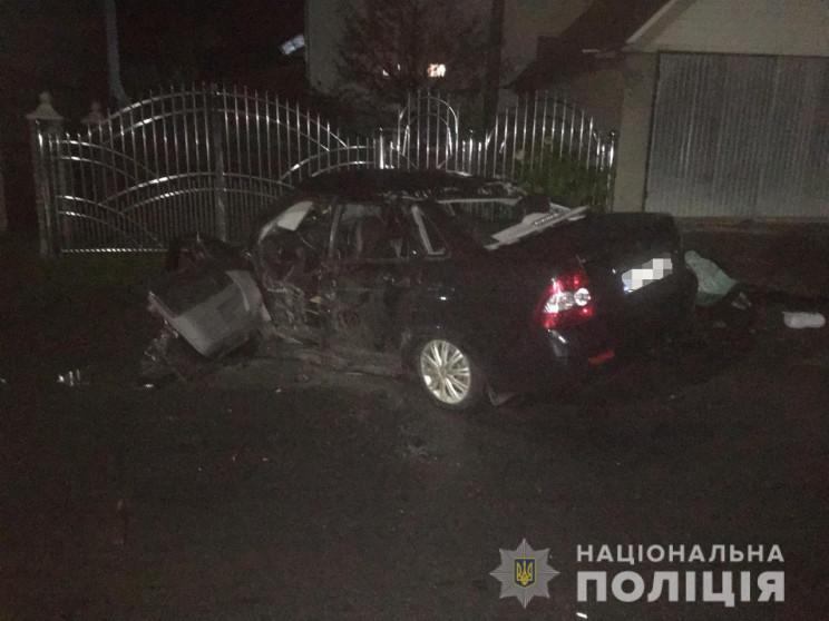 У ДТП на Тячівщині загинула 42-річна жінка