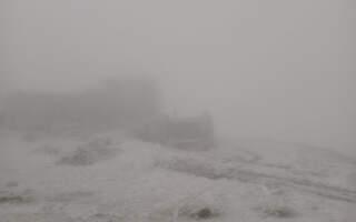 Мороз та сніг у горах
