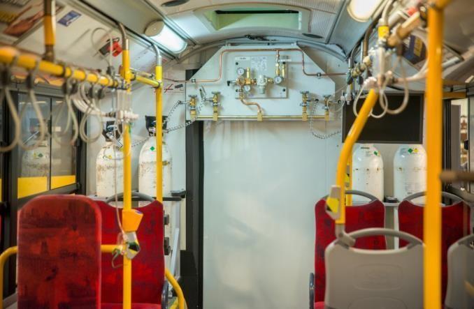 У Польщі запустили автобуси для перевезення пасажирів з Ковід-19 (фото)