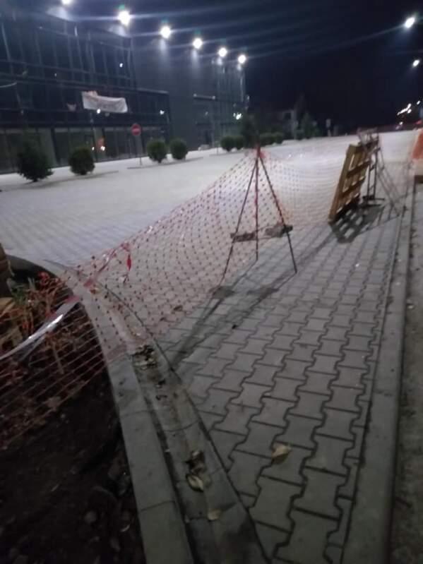 Ужгородці обурюються перекриттям пішохідної зони (фото)