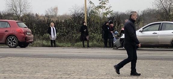 ДТП. В Ужгороді біля «Епіцентру» зіткнулись автівки