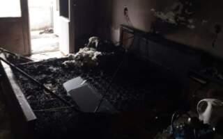 Знищило вогнем: З'явились фото з місця пожежі квартири у Іршаві